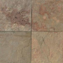 Daltile Natural Stone Collection China Apricot 12 in. x 12 in. Slate Floor and Wall Tile (10 sq. ft. / case)