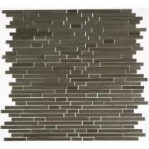Splashback Tile Windsor Random Athens Grey 12 in. x 12 in. Marble Floor and Wall Tile